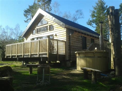 Scottish Log Cabins For Rent by Loch Aweside Forest Cabins Visitscotland