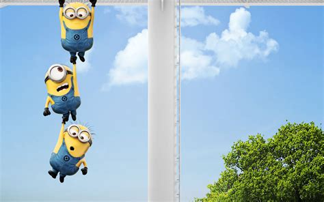 free wallpaper of minions new despicable me 2 minions wallpaper fan art collection