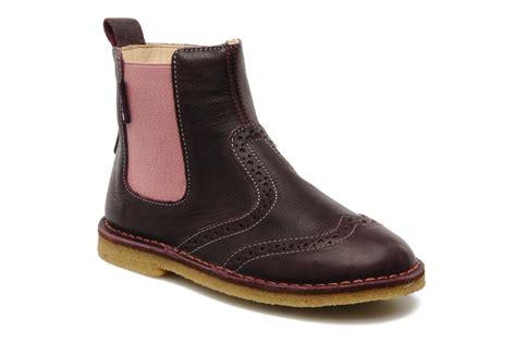 naturino boots naturino basilicate ankle boots in purple at sarenza co uk
