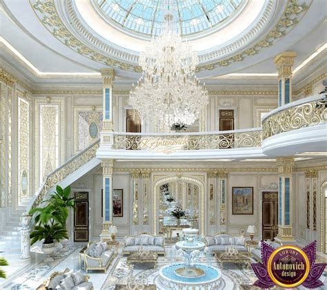 luxury royal living room design