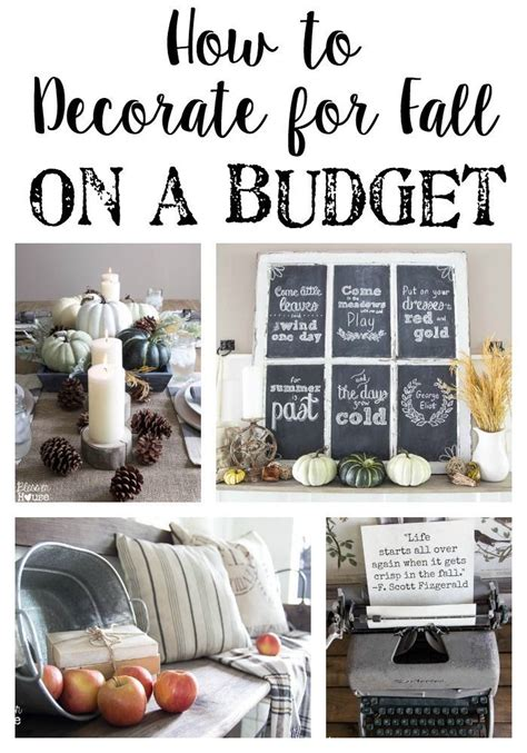 home decorating ideas on a budget home round how to decorate for fall on a budget decorating fall
