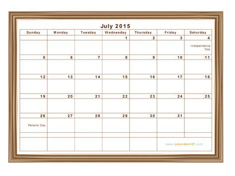 printable calendars july 2015 gse bookbinder co