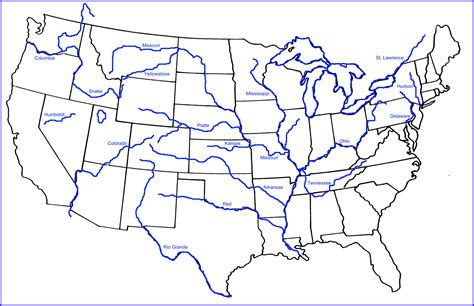blank us map with mountain ranges and rivers 19th century transportation