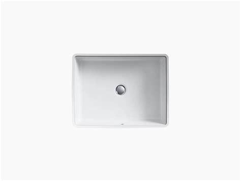 Undermount Sink Template by K 2882 Verticyl Undermount Rectangular Sink Kohler