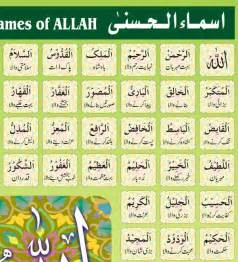 99 names of allah with meanings in urdu and english pdf driverlayer