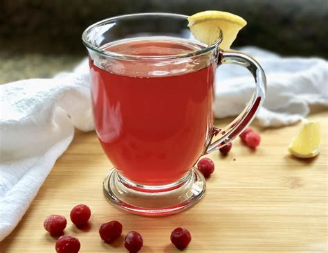 Cranberry Detox Tea by Detox Cranberry Lemon Tea Recipe Sofabfood