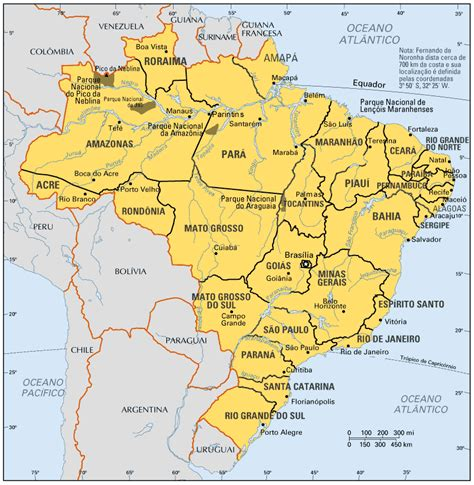 brazil map maps of brazil