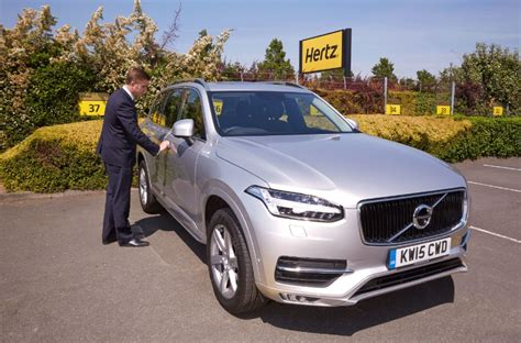 rent a volvo new volvo xc90 rentals now available through hertz