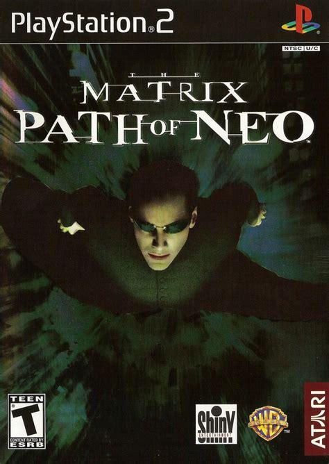 Promo Playstation 2 Ps2 Matrix Japan Hardisk Ekternal Fullgame Te the matrix path of neo for playstation 2 2005 mobygames