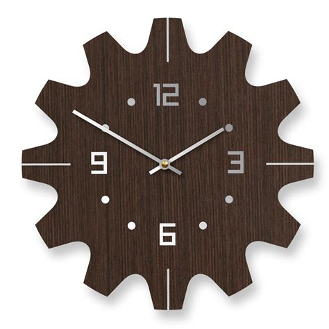 Clock Design | stylish wooden wall clocks with modern design digsdigs
