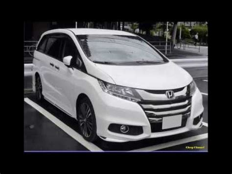 new 2018 honda odyssey hybrid 7 seater minivan look