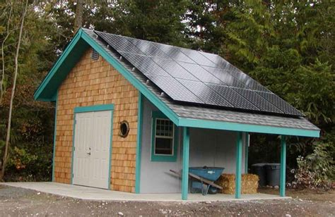 Solar Shed Power by Shed Roof Pictures And Ideas