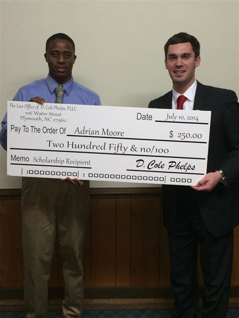 plymouth high school nc office of d cole phelps pllc 187 scholarship
