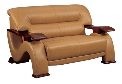 Brown Loveseat Gl Love Seat Brown Leatherette Loveseats