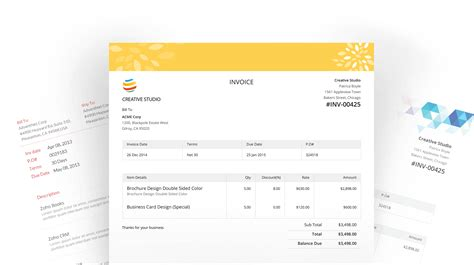templates for zoho zoho invoice template 28 images invoice template zoho