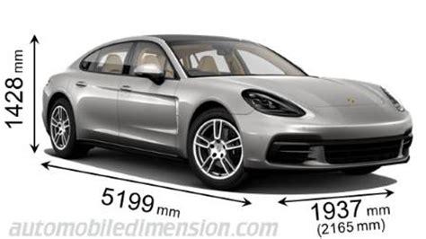 Porsche Panamera Kofferraum by Porsche Panamera Executive 2017 Abmessungen Kofferraum