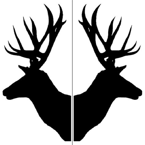 printable stencils deer deer head stencil cliparts co