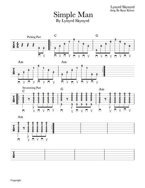 strumming pattern simple man easy 20 song guitar strumming repertoire