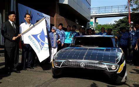 Tv Mobil Bali touring jakarta bali mobil listrik buatan its alami gangguan roda okezone news
