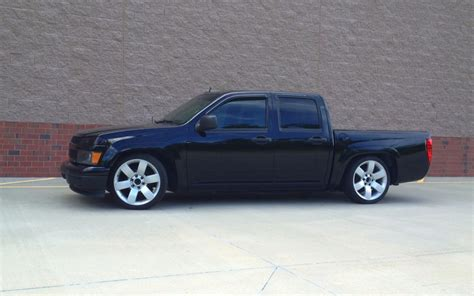 chevy colorado lowered pics of a 4door zq8 lowered 2 3 with 20 s chevrolet