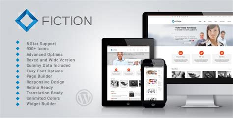 themeforest fees fiction themeforest flexible and responsive wordpress