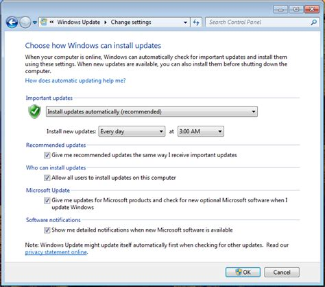 how to a to stop how do i stop or disable windows 7 autoupdate ask dave