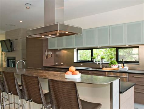 modern glass kitchen cabinets a mix of functionality and style in the form of glass