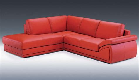 contemporary curved sectional sofa in leather modern