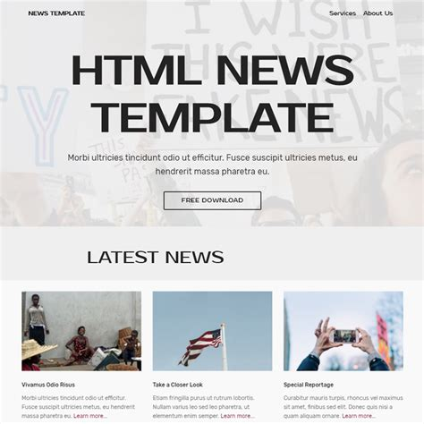 newspaper theme demo data 95 free bootstrap themes expected to get in the top in 2018