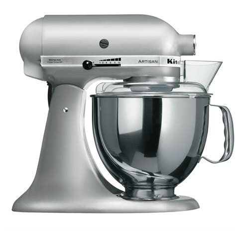 Mixer Artisan Kitchenaid kitchenaid artisan stand mixer ksm150 white