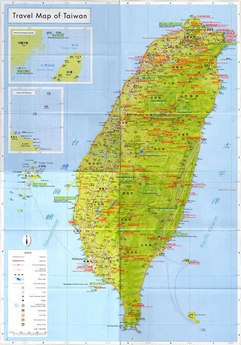 travel map directions large detailed travel map of taiwan taiwan large detailed