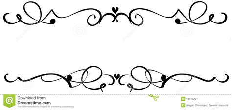 scroll clipart fancy pencil and in color scroll clipart