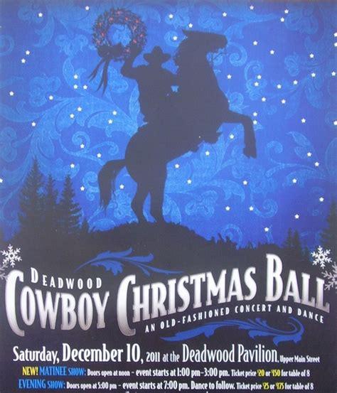cowboy christmas ball returns deadwood holiday