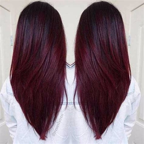 what is a good hair color for 68yr old woman 50 vivid burgundy hair color ideas for this fall hair
