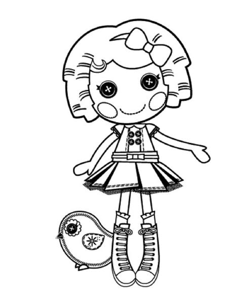 lalaloopsy mittens coloring page blossom flower pot from lalaloopsy page color luna 10112