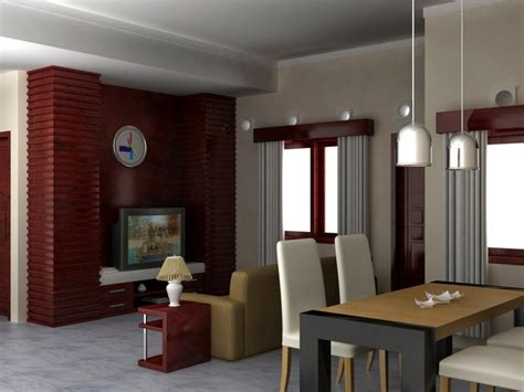 contoh gambar desain ruangan minimalis berbagai ukuran
