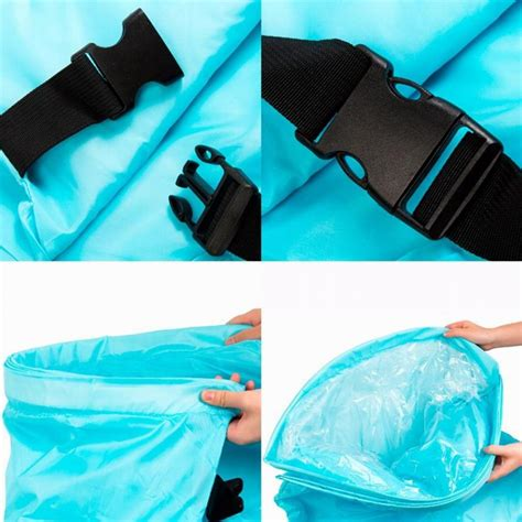Foldable Sleeping Mattress Bag airbed cing sofa outdoor pocket folding airbed sleeping bag cing mat travel