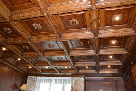 Decorative Wood Ceilings by Ceiling Burl Walnut Finish For Studios Idfdesign