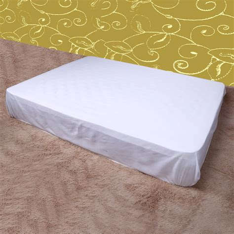comfortable bed covers 150x 200cm smooth for box spring mattress cover bed