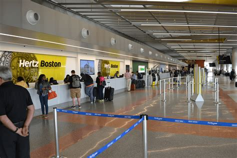 hertz car rental boston logan international airport