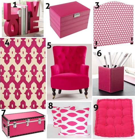 pink home decor color focus hot pink decor pink home decor pinterest