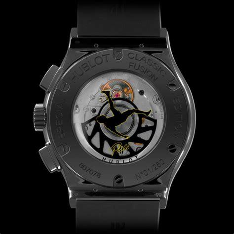 Hublot Aryaton Senna Black Silver hublot the classic fusion chrono aero pele watchmobile7