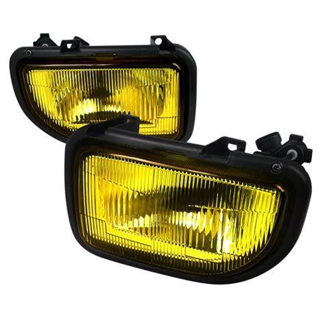toyota mr2 fog lights 1991 1995 toyota mr2 chrome housing yellow lens oem style