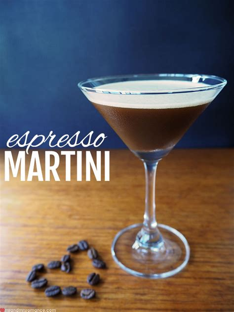 Classic Espresso Martini Recipe   Mr and Mrs RomanceMr and Mrs Romance