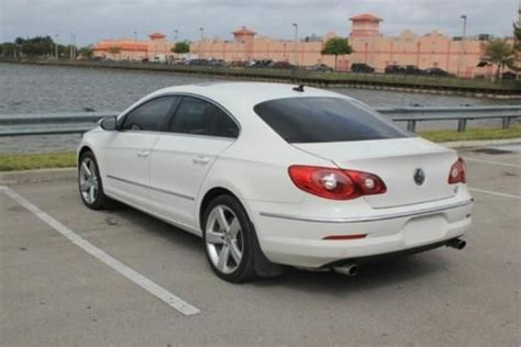 Top Of The Line Volkswagen by 2009 Vw Cc Vr6 4motion 6 Cyl Navigation Backup