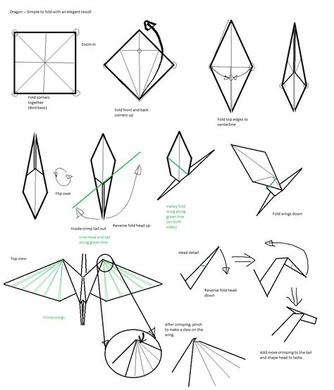 Origami Dragonfly Step By Step - origami how to make paper origami step by step