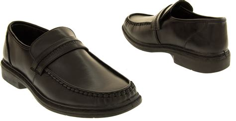 boys loafers size 7 mens slip on formal shoes work loafers boys school shoe