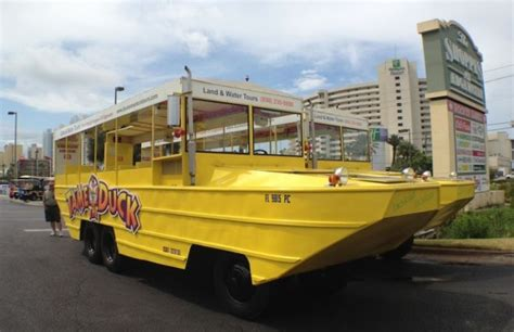 duck boat insurance duck boat tours now available in pcb condo owner magazine