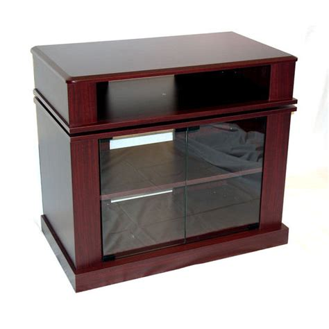 swivel top tv stand media cabinet tv stand 4d concepts swivel top tv stand w media