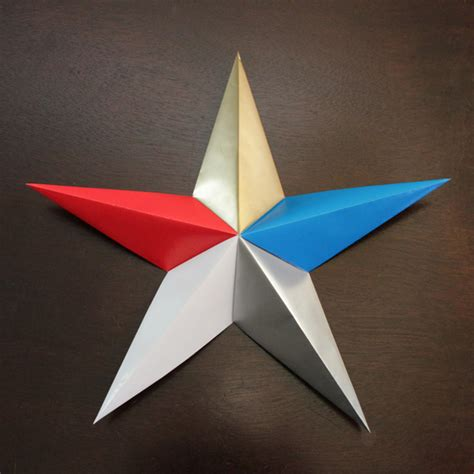 Origami Stat - make patriotic origami dollar store crafts